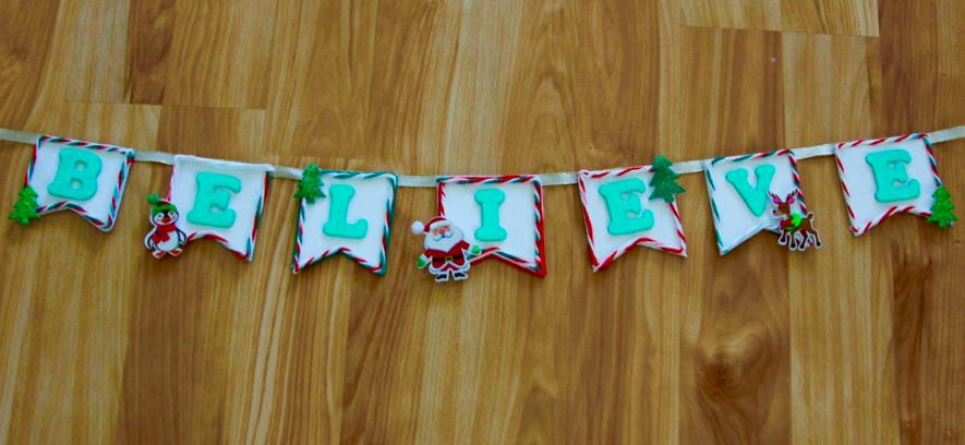 DIY Cardboard Banner