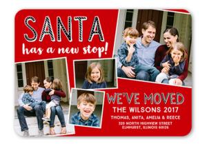 Santa has a new stop