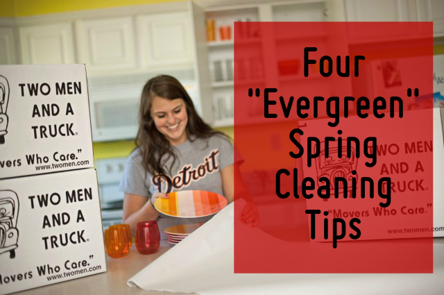 evergreen spring cleaning tips