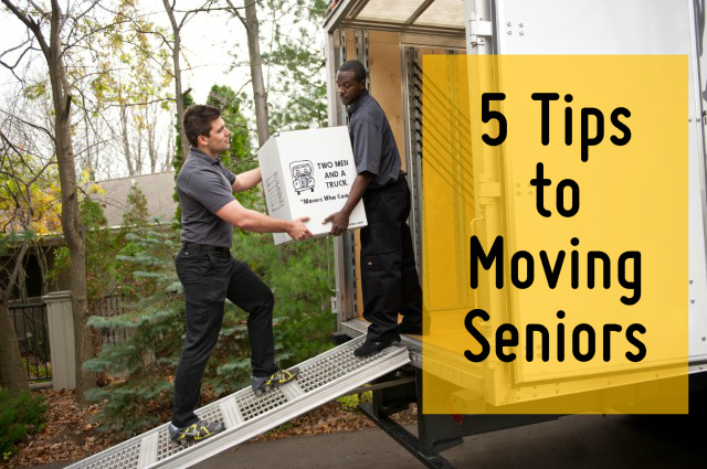 tips for moving seniors