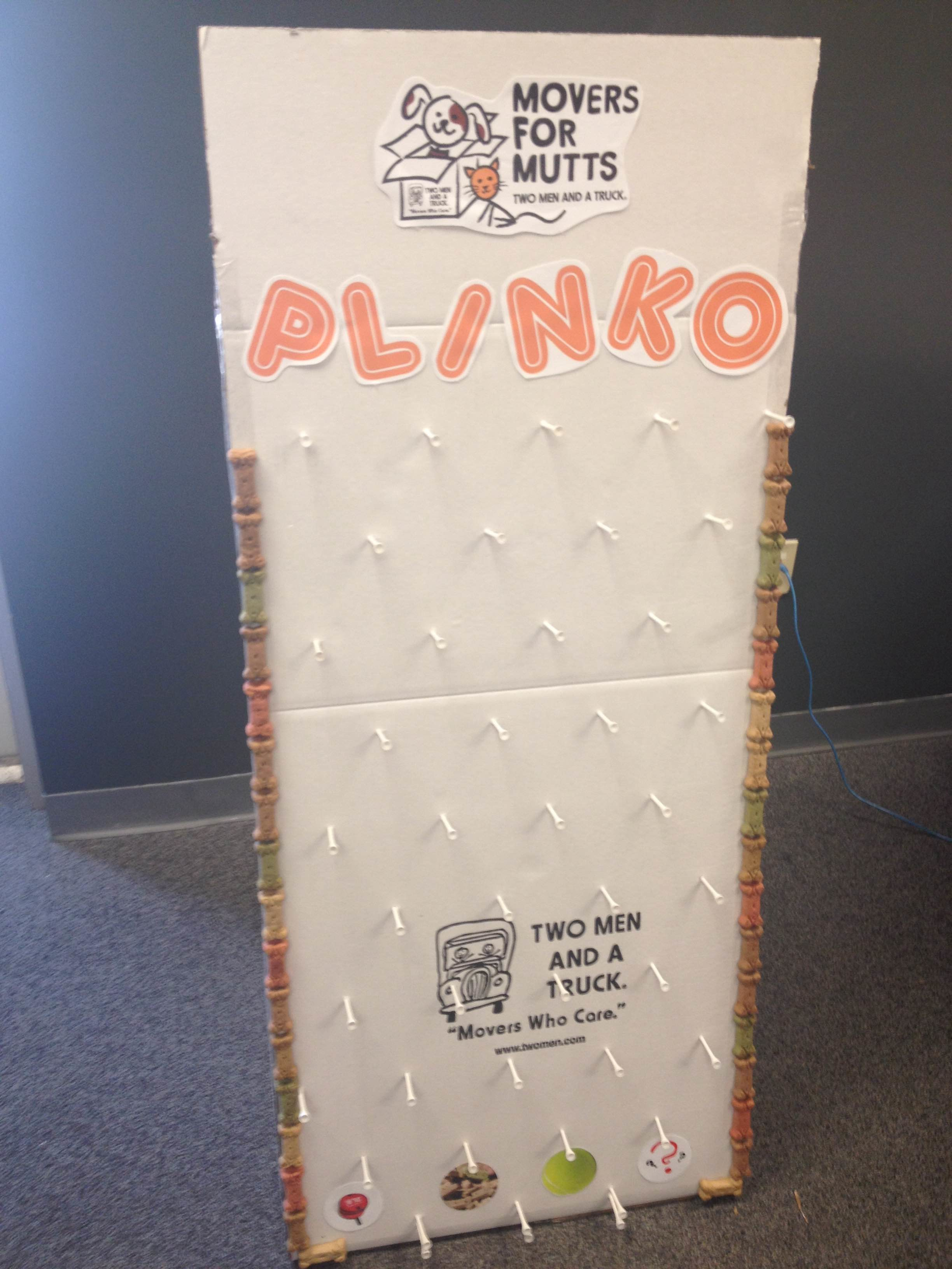 How To Make A Diy Plinko Game With Moving Boxes Movers Who