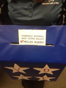 Nashville Mayoral Ballot Box Halloween Costume