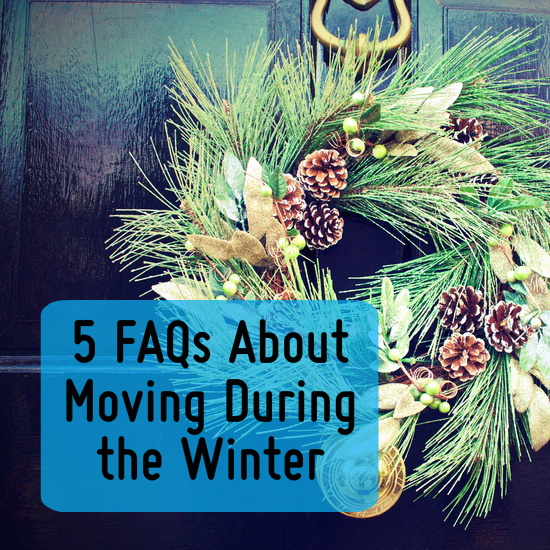FAQs about moving during the winter
