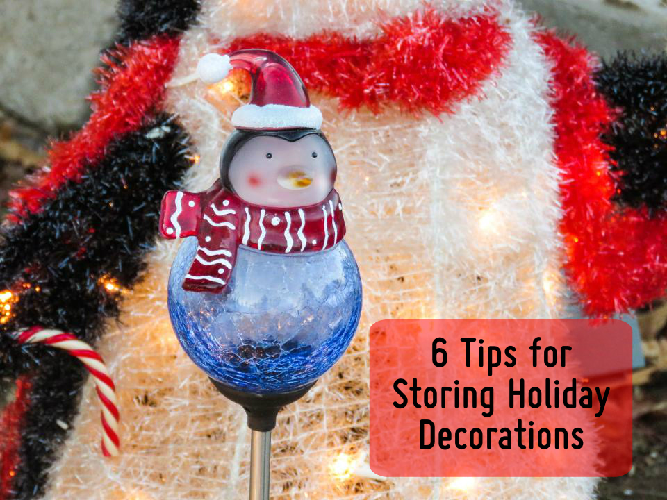 how to store holiday decorations with moving supplies