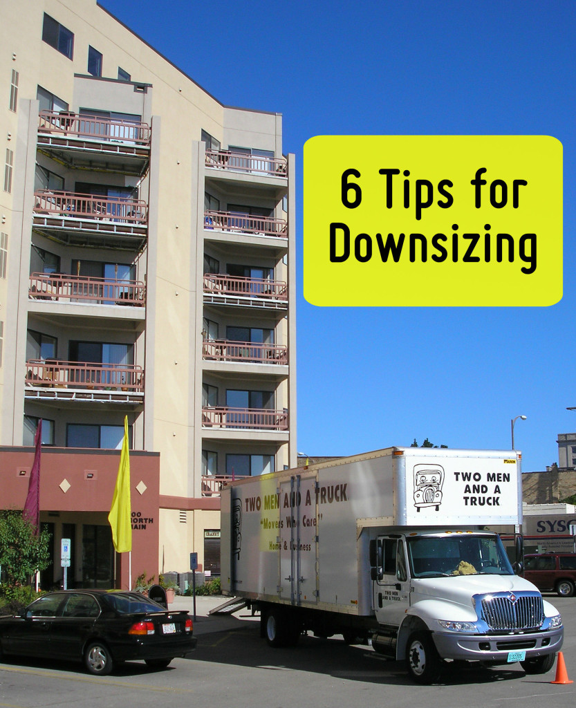 6 tips for Downsizing from TWO MEN AND A TRUCK Nashville