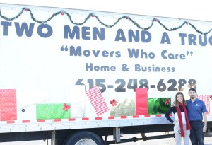 TWO MEN AND A TRUCK Nashville in the Donelson-Hermitage Christmas Parade