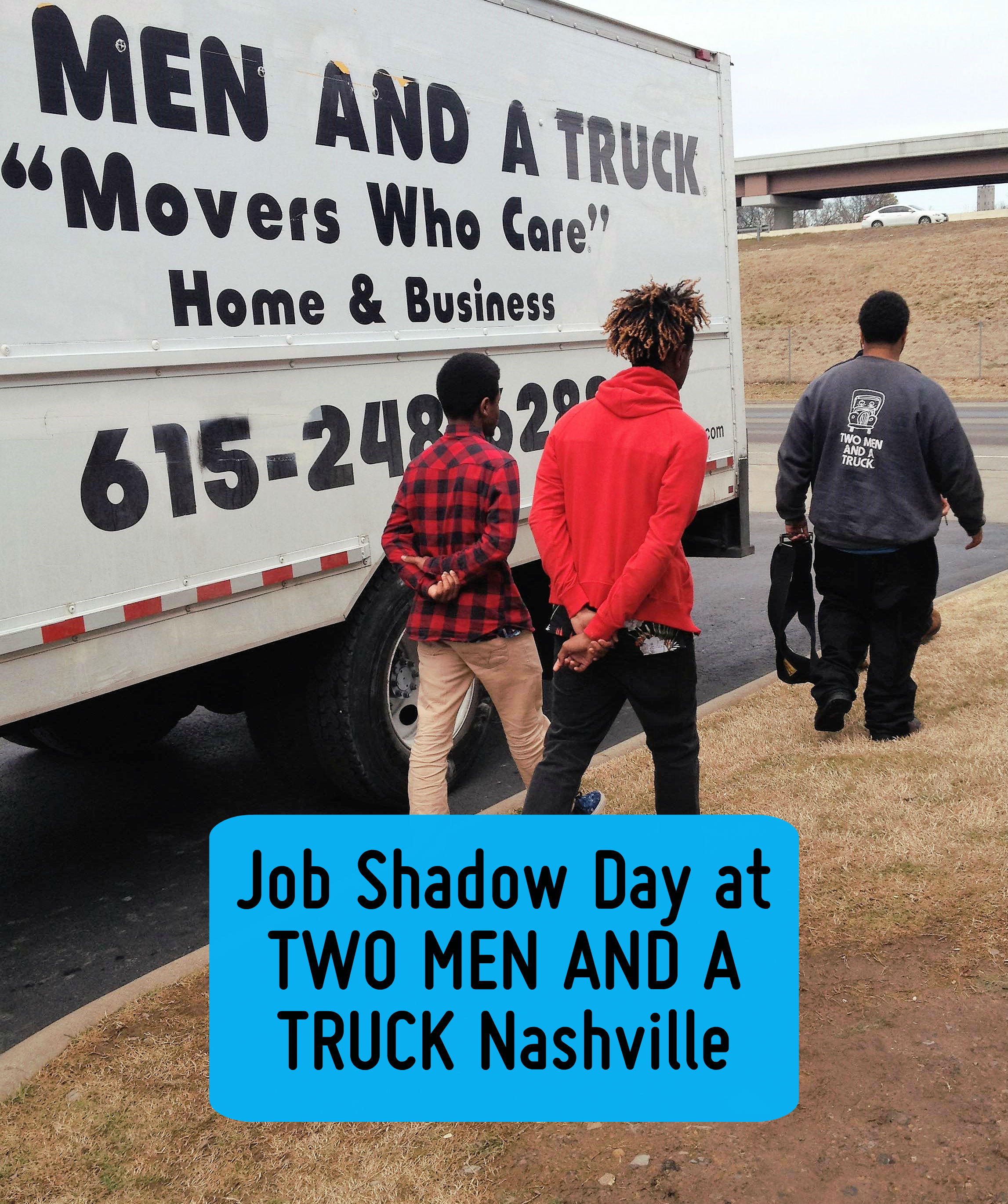 Job Shadow Day at TWO MEN AND A TRUCK Nashville