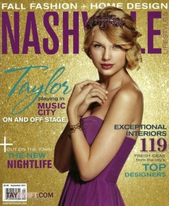 Nashville Lifestyles magazine interview with Taylor Swift