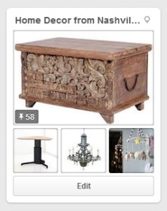 Home Decor from Nashville's Stores Pinterest board