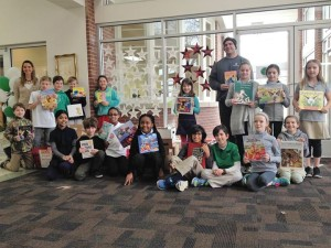 Julia Green Elementary School's book drive for Book'em