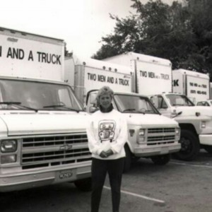 Mary Ellen Sheets founded TWO MEN AND A TRUCK in 1985.