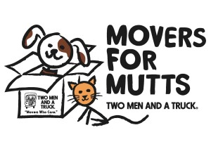 Movers for Mutts with TWO MEN AND A TRUCK Nashville