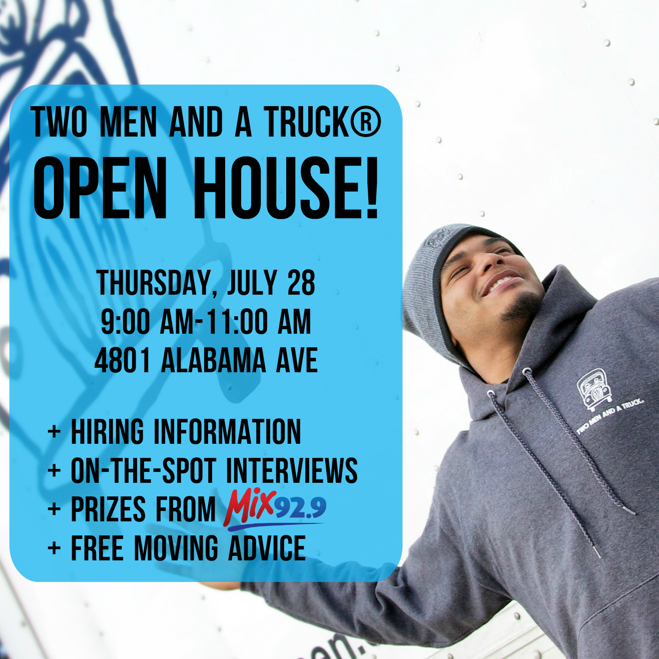 TWO MEN AND A TRUCK Nashville is hosting an open house