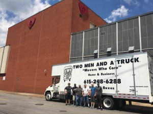 Charity move for Nashville Rescue Mission