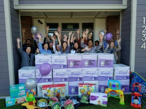 Every year, we host a Movers for Moms charity drive benefiting the moms at Safe Haven Family Shelter