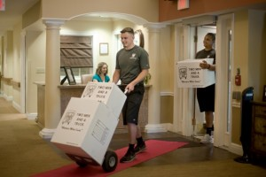 Moving into an assisted living facility