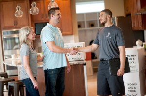 Appoint an on-site representative the day of the move