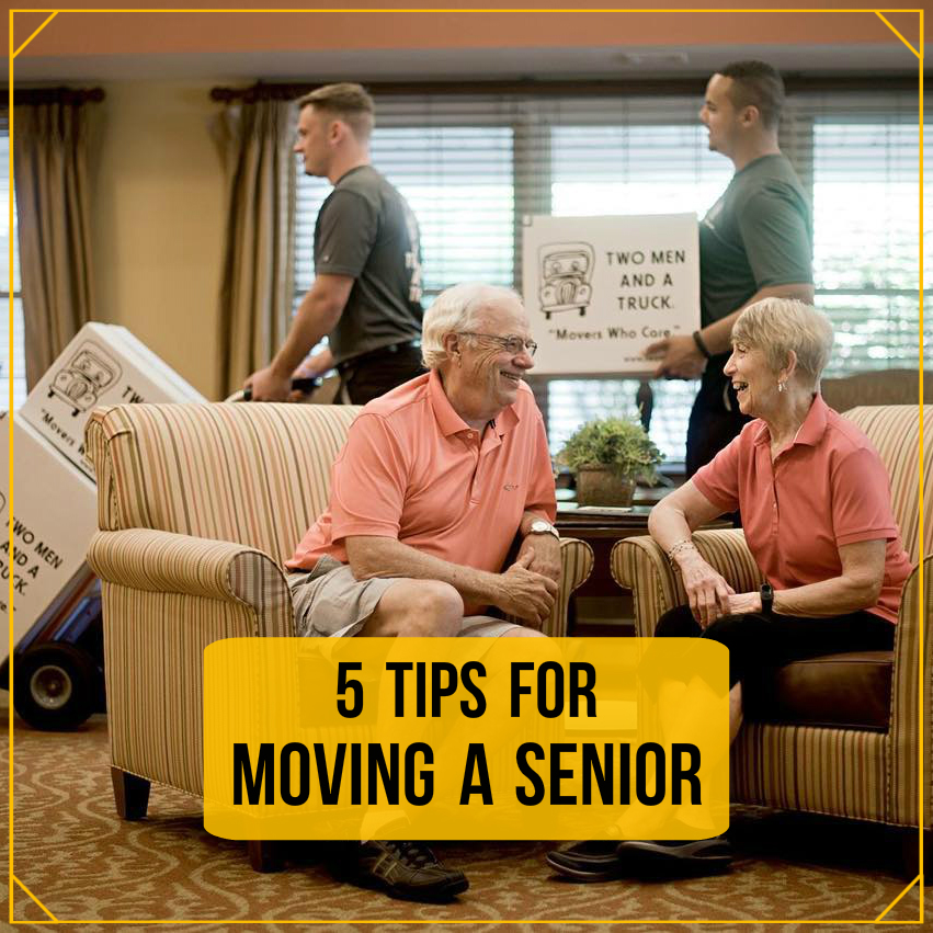 5 tips for moving a senior
