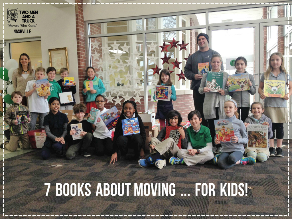 seven books about moving for kids
