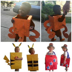 Box costumes DIY
