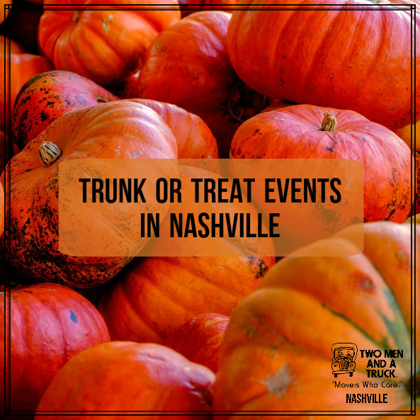 TWO MEN AND A TRUCK will be at four local Trunk or Treat events this year