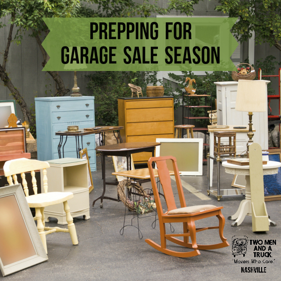 Prepping for Garage Sale Season with TWO MEN AND A TRUCK