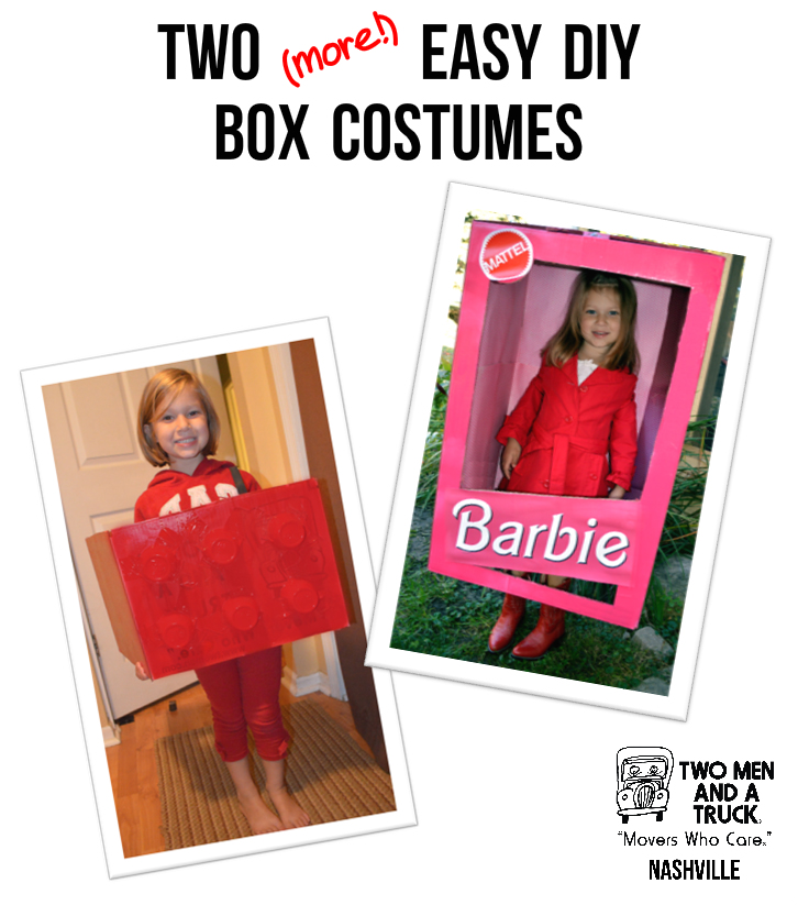 Two more easy box costumes you can DIY with TWO MEN AND A TRUCK boxes