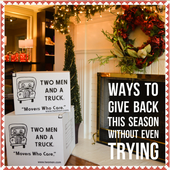 ways to give back this season without even trying