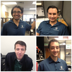 No Shave November--our BEFORE pictures!