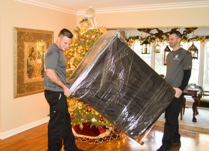 TWO MEN AND A TRUCK can move your furniture to make room for holiday directions
