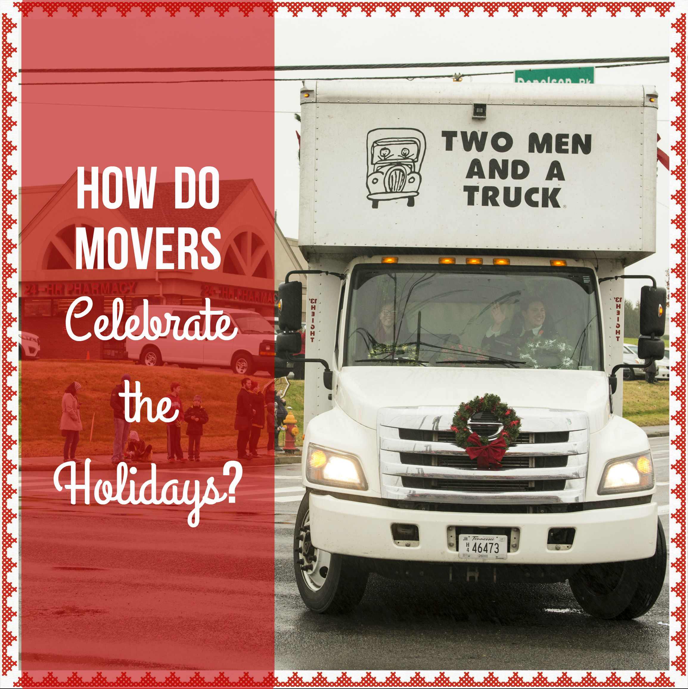How the staff at TWO MEN AND A TRUCK Nashville will celebrate the holidays
