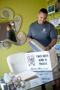 TWO MEN AND A TRUCK Nashville can pack for your business move