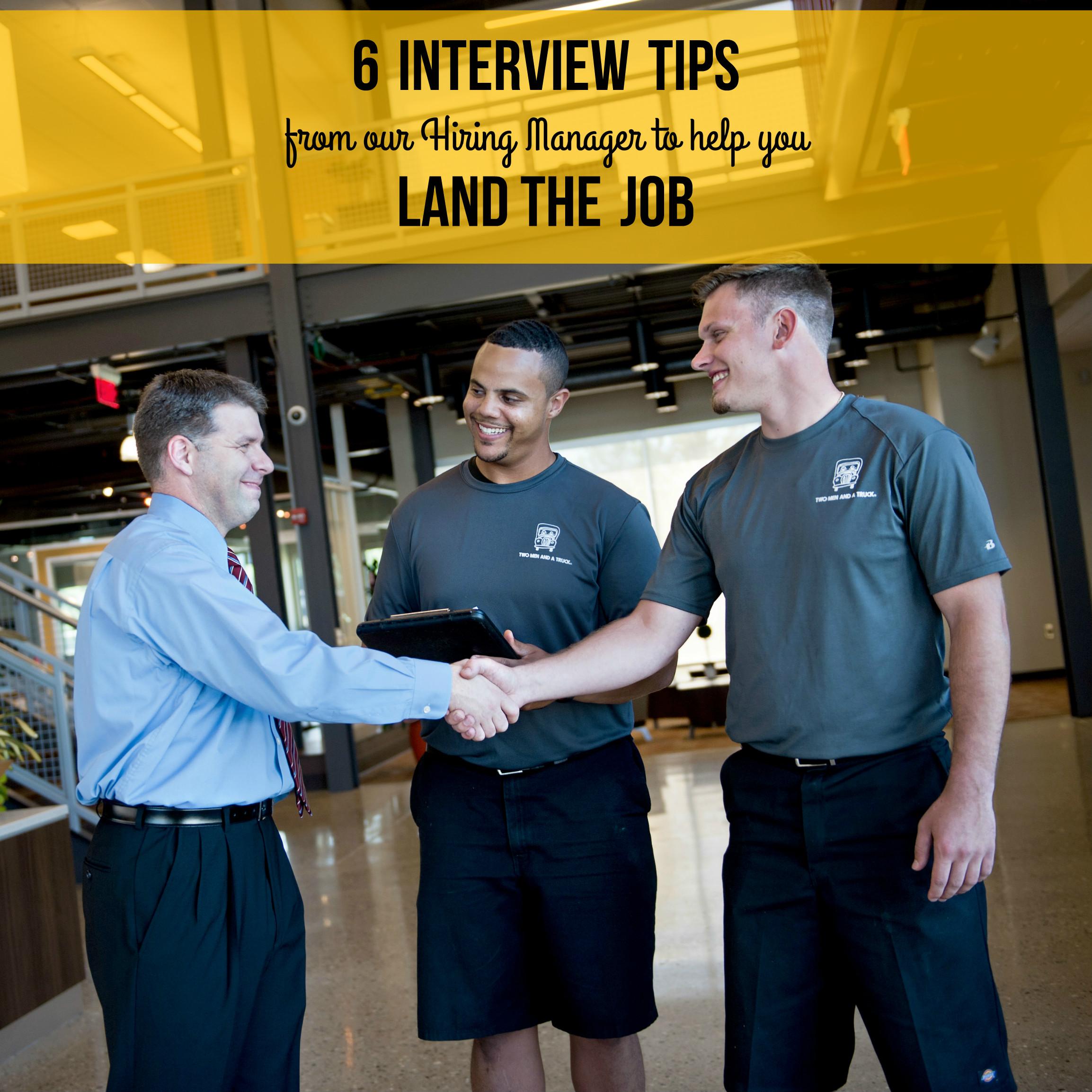 Interview tips from TWO MEN AND A TRUCK Nashville