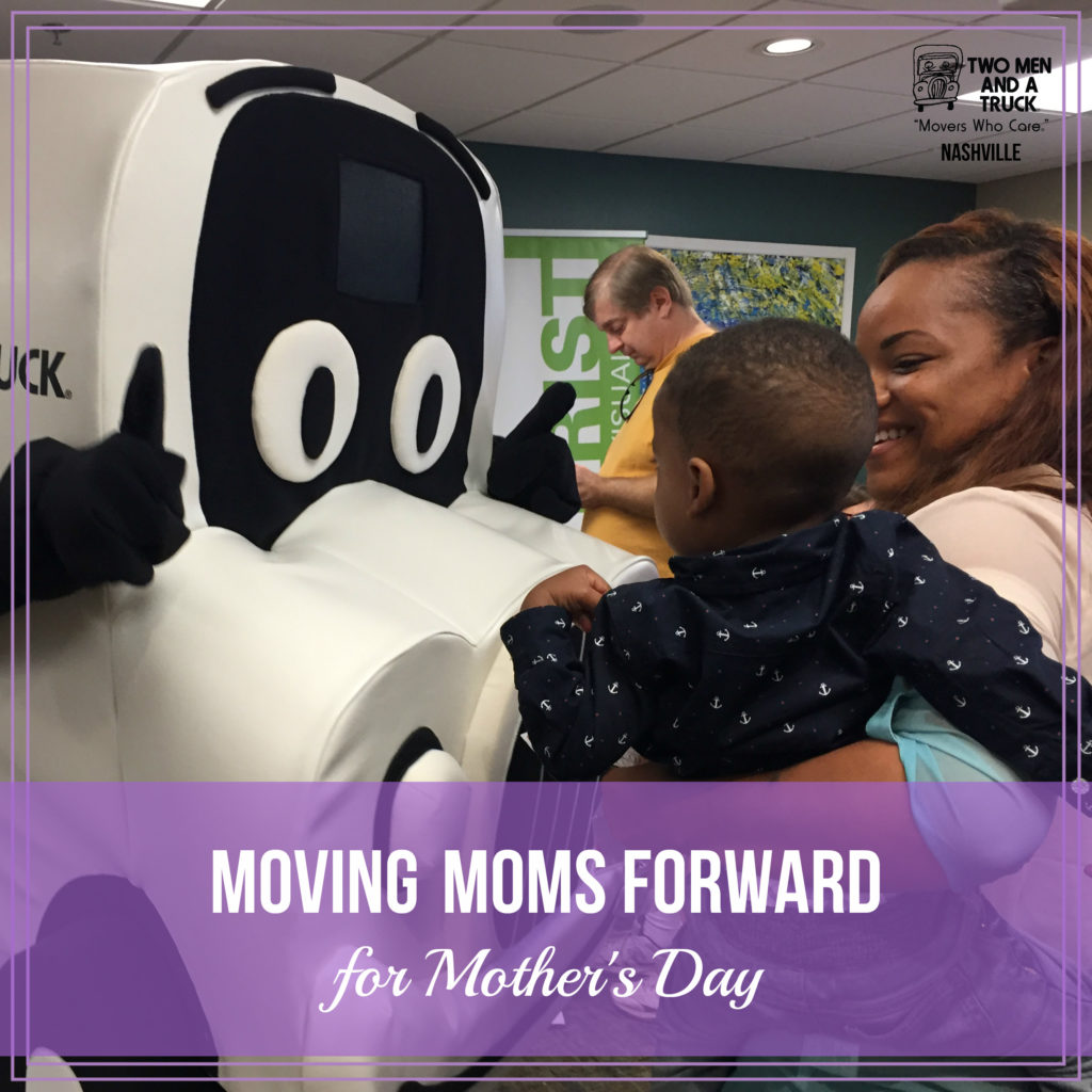 Movers for Moms collects Mother's Day donations for Safe Haven Family Shelter