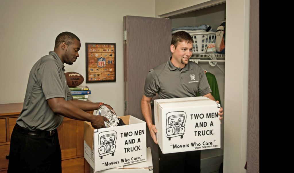 TWO MEN AND A TRUCK can move you into your new Nashville apartment
