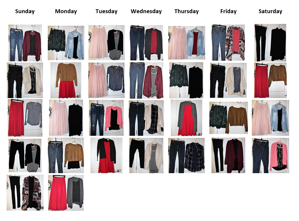 TWO MEN AND A TRUCK clothing wardrobe capsule wardrobe box